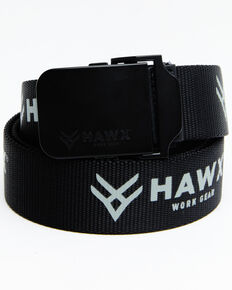 Hawx Men's Web Belt, Black, hi-res