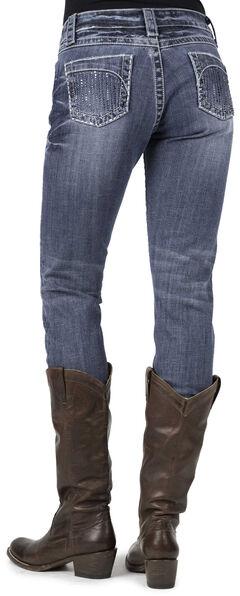 Stetson Rhinestone 503 Pixie Stix Fit Jeans, Denim, hi-res