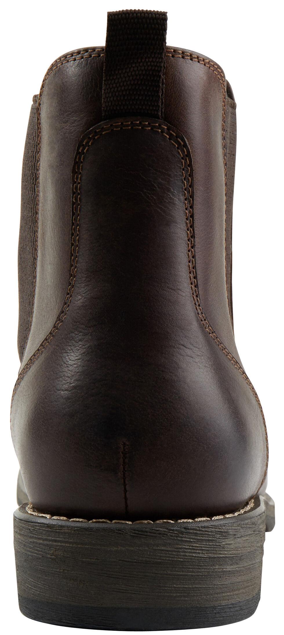 Eastland Men's Dark Brown Daily Double Jodhpur Boots , , hi-res