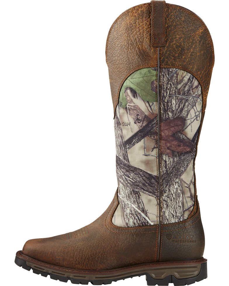 Ariat Men S Conquest Waterproof Snakeproof Boots Square