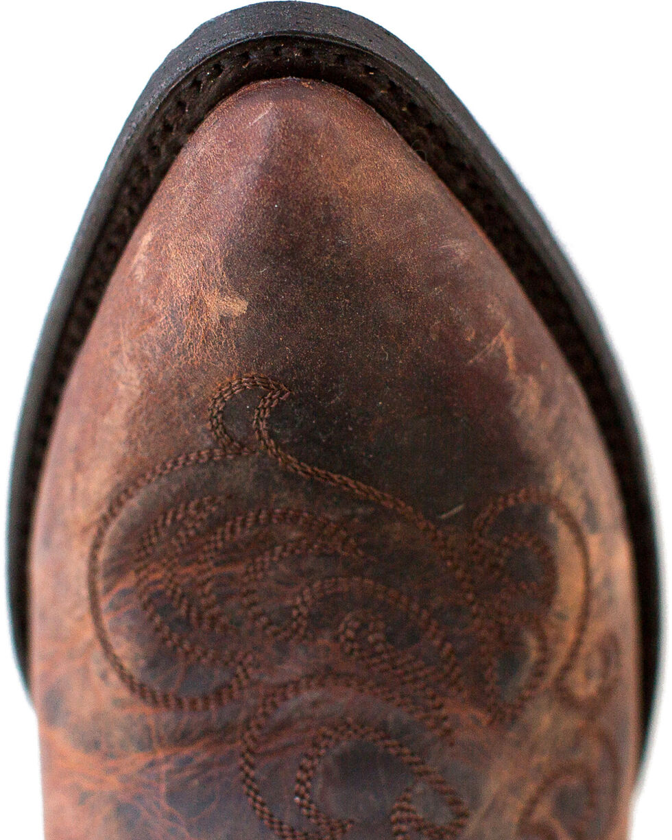 Miss Macie Women's Brown Steppin' Style Cowgirl Boots - Pointed Toe , Brown, hi-res