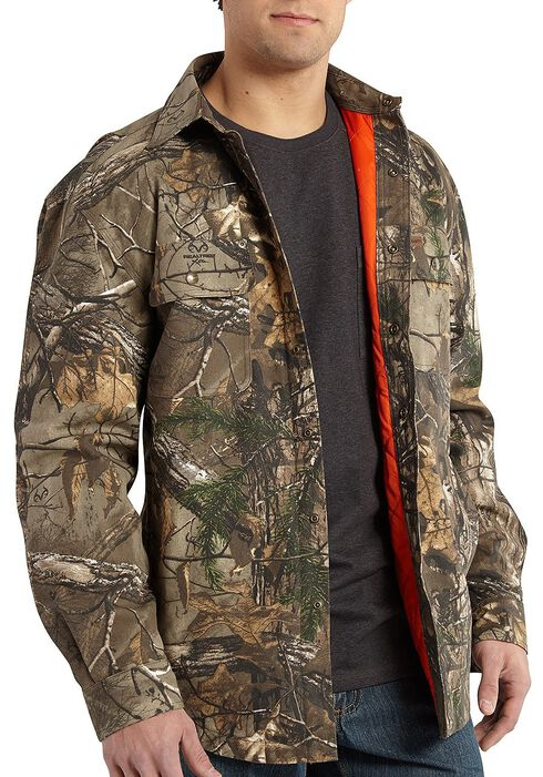 Carhartt Men's Wexford Camo Shirt Jacket - Big & Tall, Camouflage, hi-res