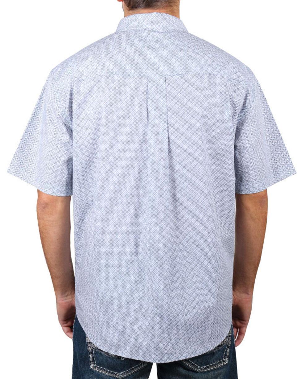 Cody James Men's Button Down Short Sleeve Shirt - Big & Tall, White, hi-res