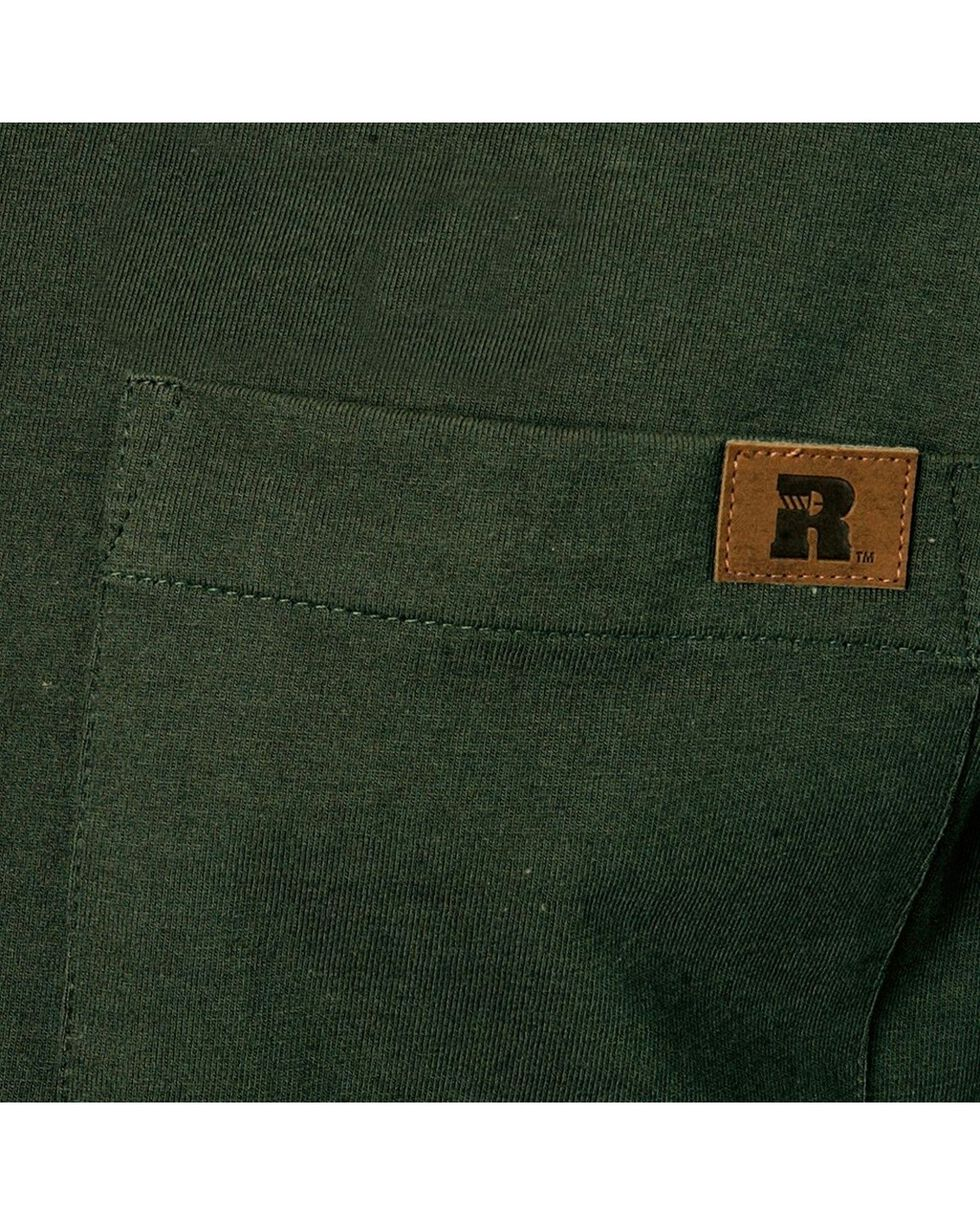 Wrangler Riggs Work Wear Henley, Forest Green, hi-res