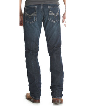 Wrangler Rock 47 Men's Slim Fit Straight Leg Jeans , Blue, hi-res