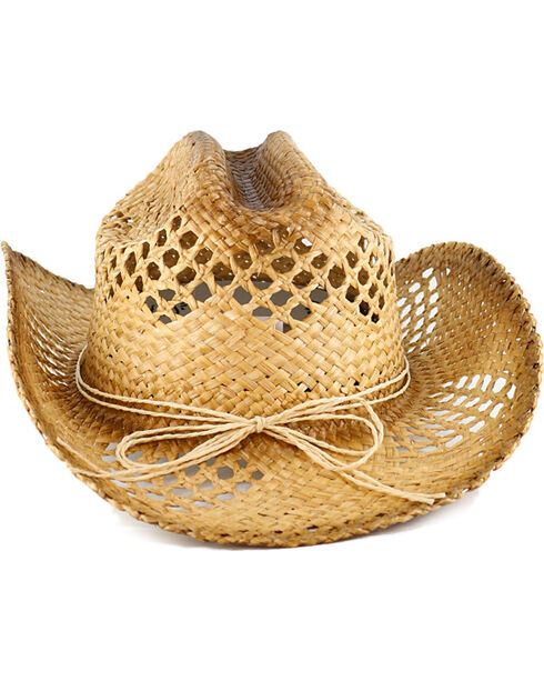 Shyanne Women's Seashell Straw Hat, Natural, hi-res