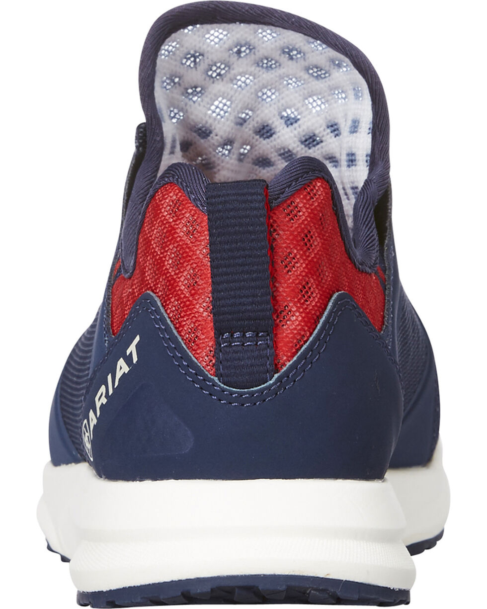 Ariat Women's Navy Fuse Team Shoes , Navy, hi-res