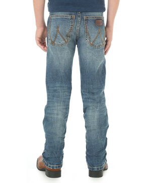 Wrangler Retro Boys' Hayward Medium Wash Jeans - Straight Leg, Indigo, hi-res