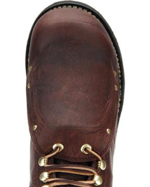 Carolina Men's Brown Domestic External MetGuard Boots- Broad Toe, Brown, hi-res