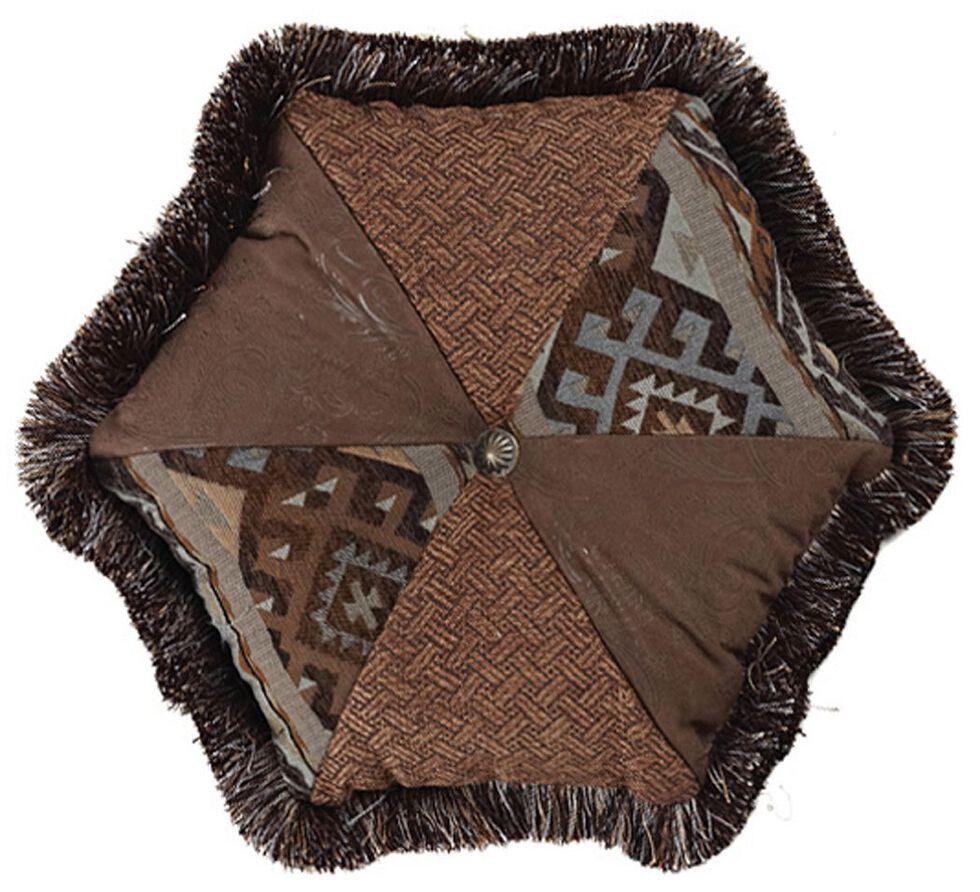 HiEnd Accents Rio Grande Hexagon Pillow, Multi, hi-res