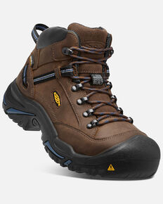 a028c11c772b7 Keen Men's Braddock Waterproof Work Boots - Steel Toe