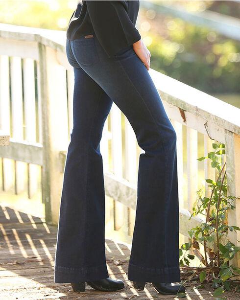 Wrangler Women's Indigo Retro Mae Jeans - Boot cut , Indigo, hi-res