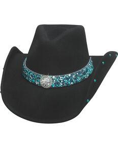 Bullhide Women s Dancin  Crazy Wool Felt Cowboy Hat a3dfec925b6d