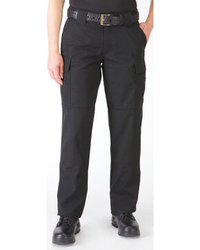 5.11 Tactical Women's TDU Pants, Black, hi-res
