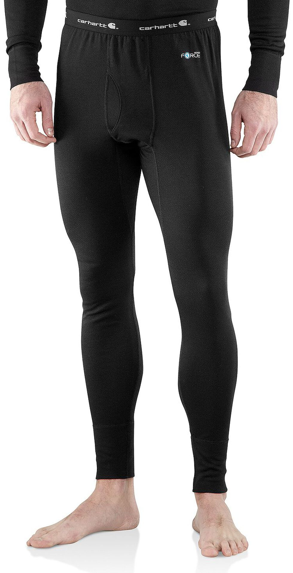 Carhartt Base Force Cold Weather Midweight Underwear - Big & Tall, Black, hi-res