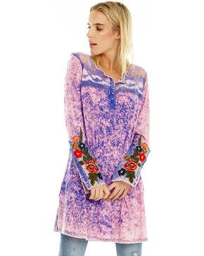 Aratta Women's Nikki Tunic, Bright Blue, hi-res