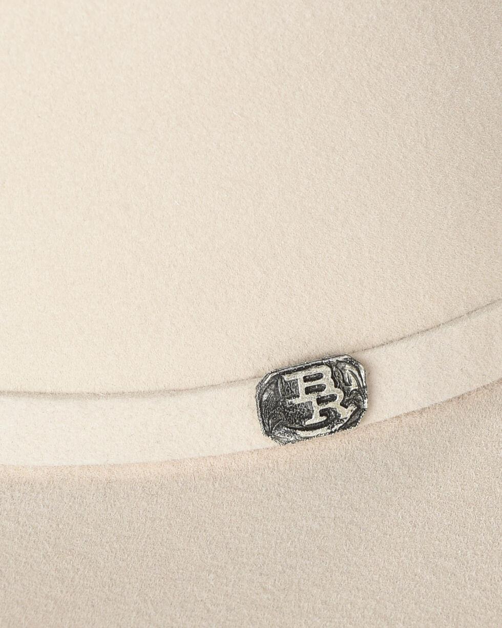 Justin Bent Rail Men's Ivory 25X The Boss Felt Cowboy Hat, Ivory, hi-res