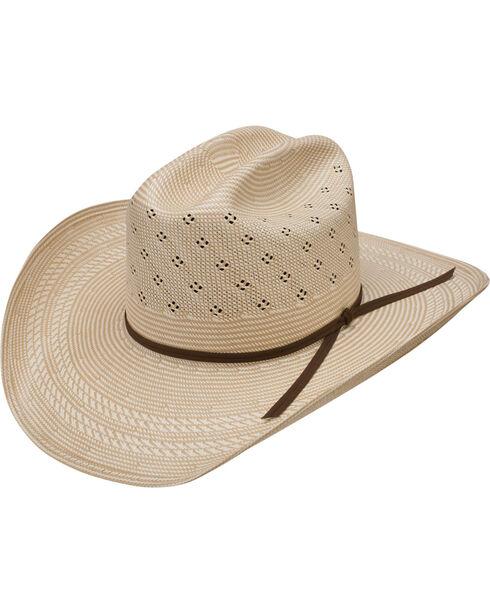 Resistol 20X Conley Straw Cowboy Hat, Natural, hi-res
