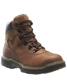 Wolverine Men's Marauder Insulated Work Boots - Soft Toe, Brown, hi-res