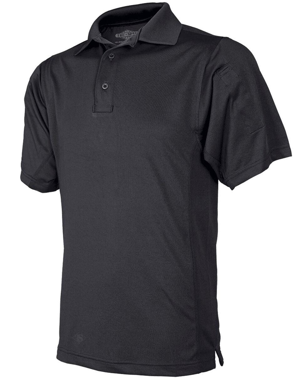Tru-Spec Men's 24-7 Series Short Sleeve Eco Tec Polo, Black, hi-res