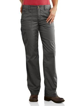 Carhartt Women's Force RuggedFlex Lakota Pants, Dark Grey, hi-res