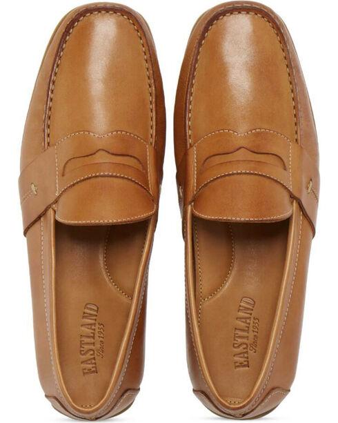 Eastland Men's Pensacola Slip On Loafers - Moc Toe, Camel, hi-res