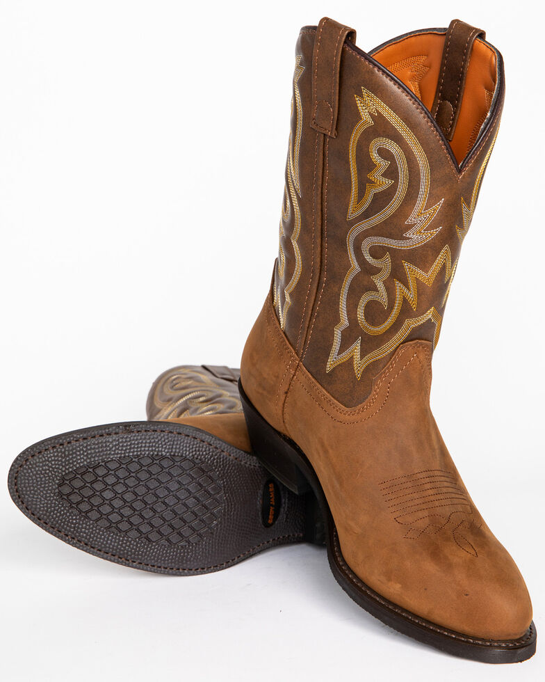 074efd64795 Cody James Men's Embroidered Western Boots - Round Toe