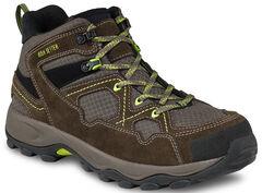Red Wing Afton Steel Toe Hiker Work Boots, Brown, hi-res