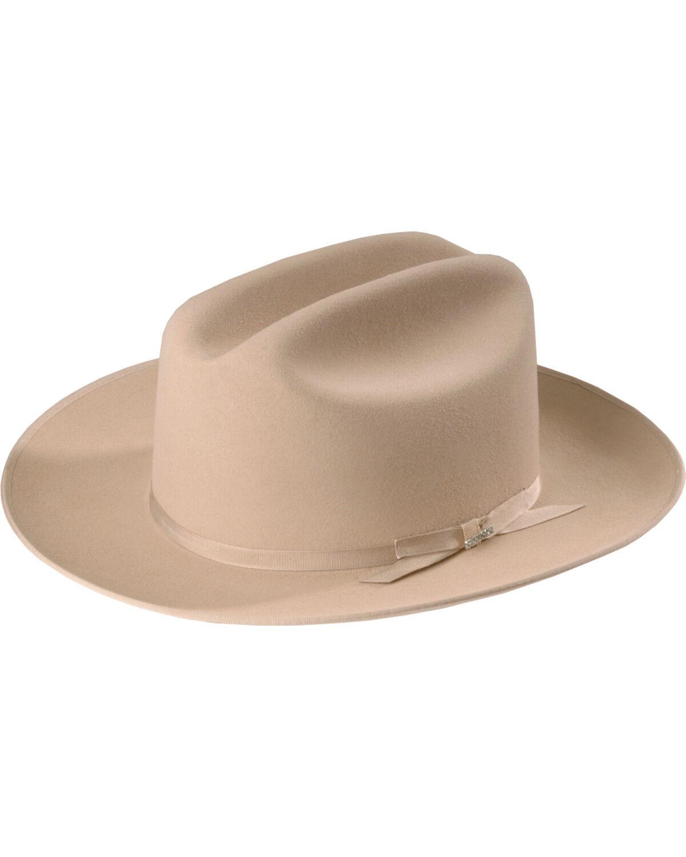 7f429633 ... good stetson 6x open road fur felt cowboy hat silverbelly hi res 9df99  a1053 ...
