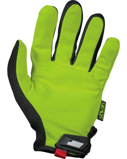 Mechanix Wear Hi-Viz Original Safety Gloves , Bright Yellow, hi-res