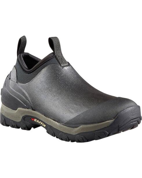Baffin Men's Marsh Mid Pull-On Boots - Round Toe, Black, hi-res