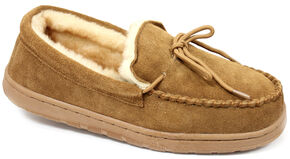 Lamo Men's Moccasins , Chestnut, hi-res