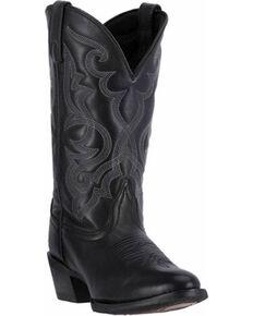 Laredo Women's Maddie Cowgirl Boots - Medium Toe, Black, hi-res