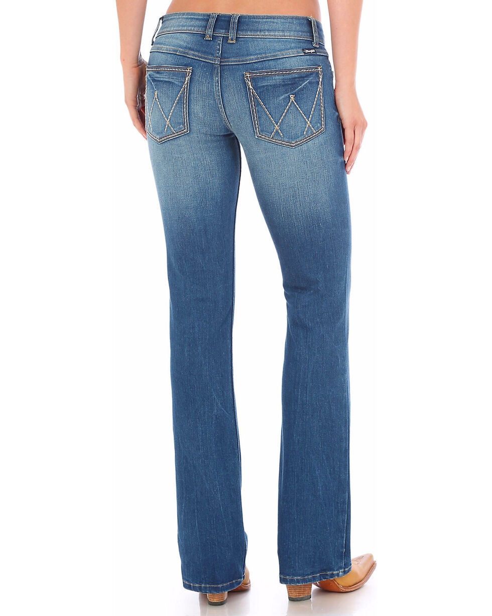 Wrangler Women's Light Wash Retro Sadie Jeans, Indigo, hi-res