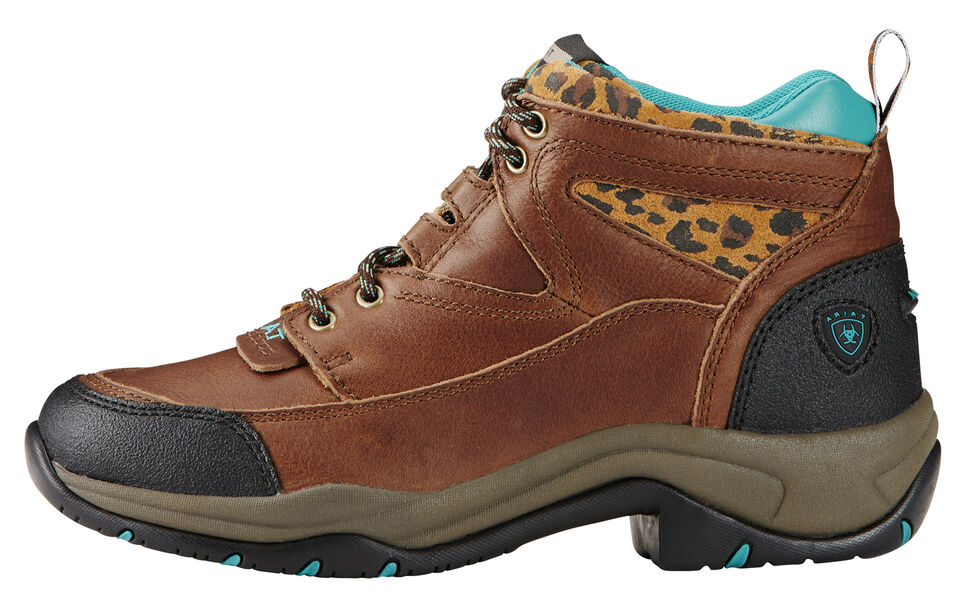 Ariat Women's Tundra Cheetah Terrain Boots , Brown, hi-res