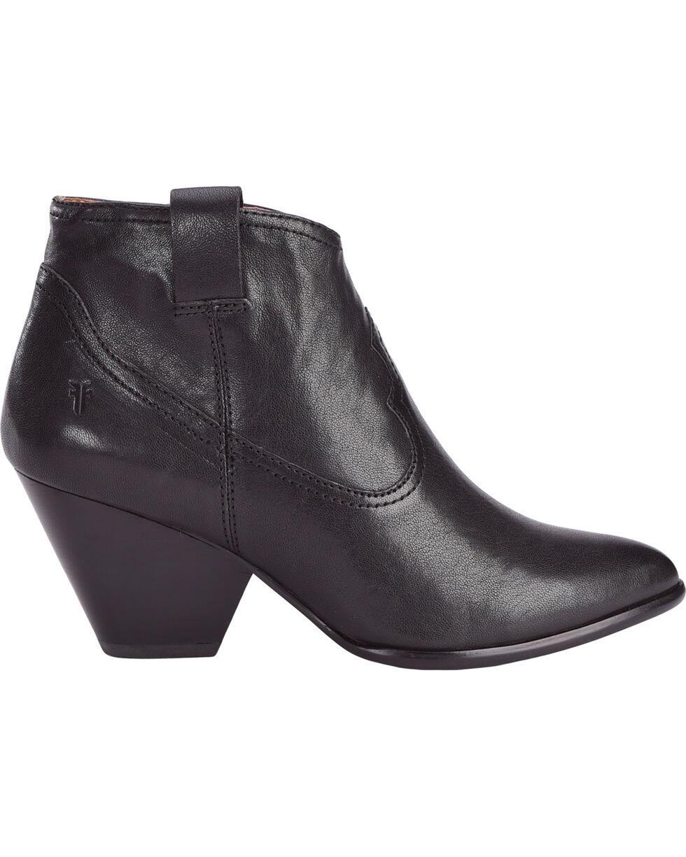 Frye Women's Black Reina Leather Booties - Pointed Toe , Black, hi-res