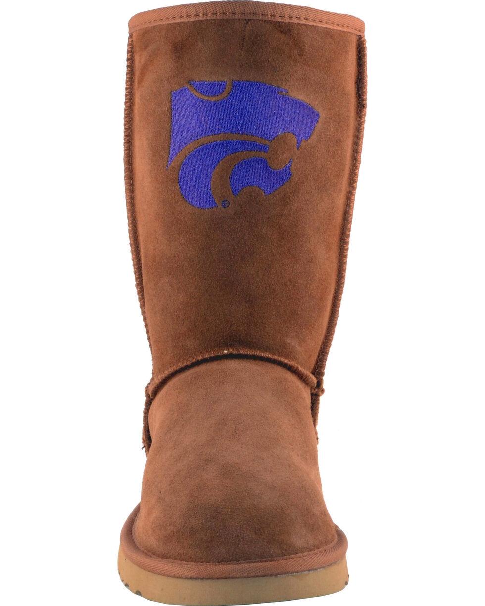 Gameday Boots Women's Kansas State University Lambskin Boots, Tan, hi-res