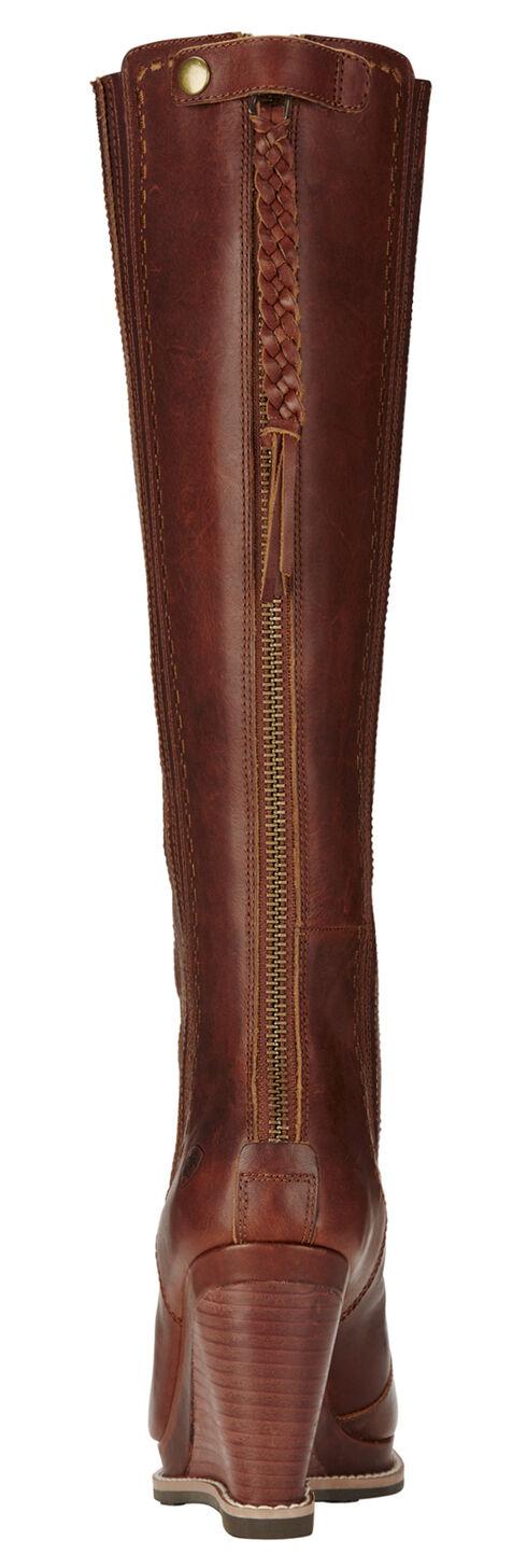 Ariat Cedar Ryman Wedge Cowgirl Boots - Round Toe, Cedar, hi-res
