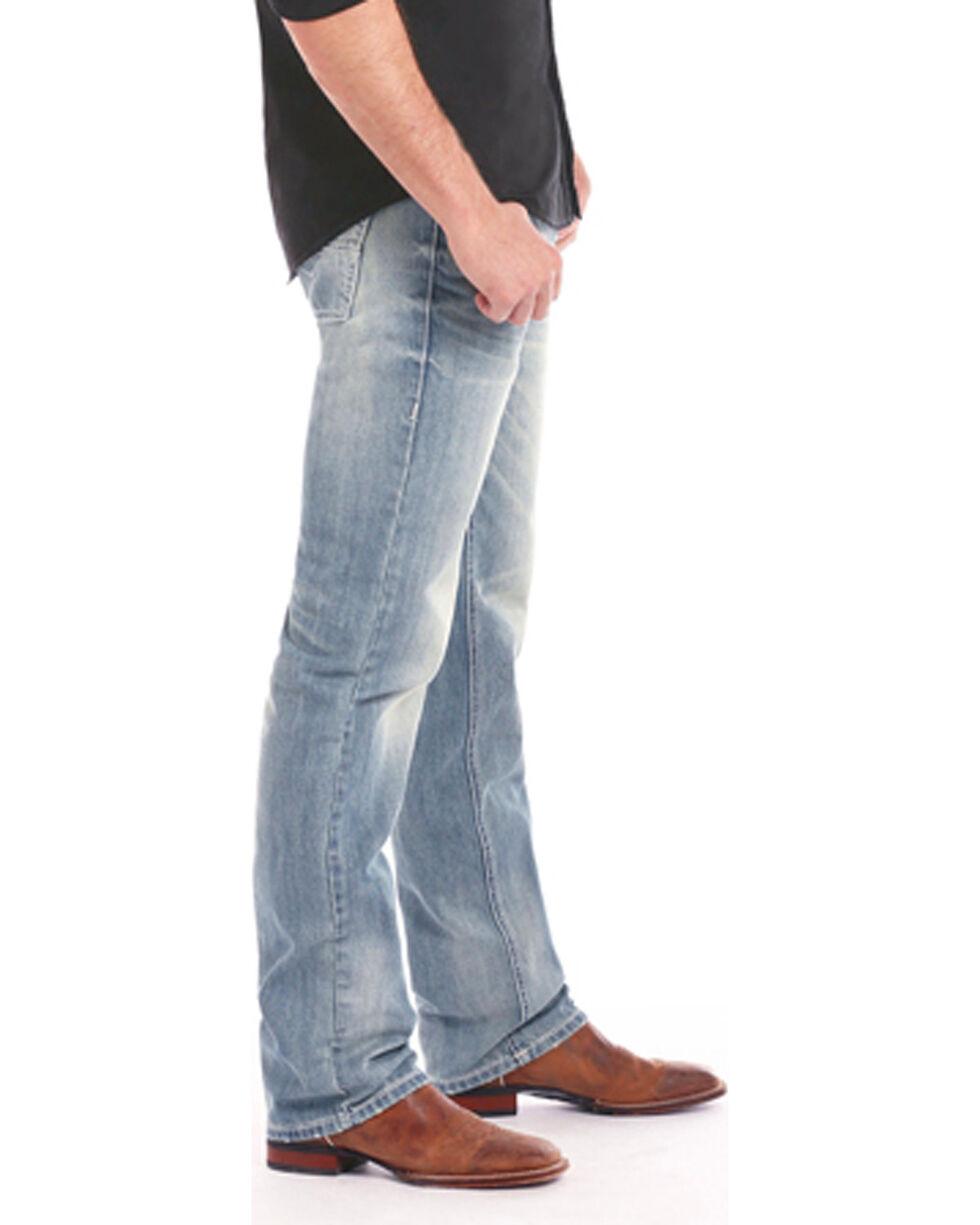 Rock & Roll Cowboy Men's Revolver Light Jeans - Straight Leg , Indigo, hi-res