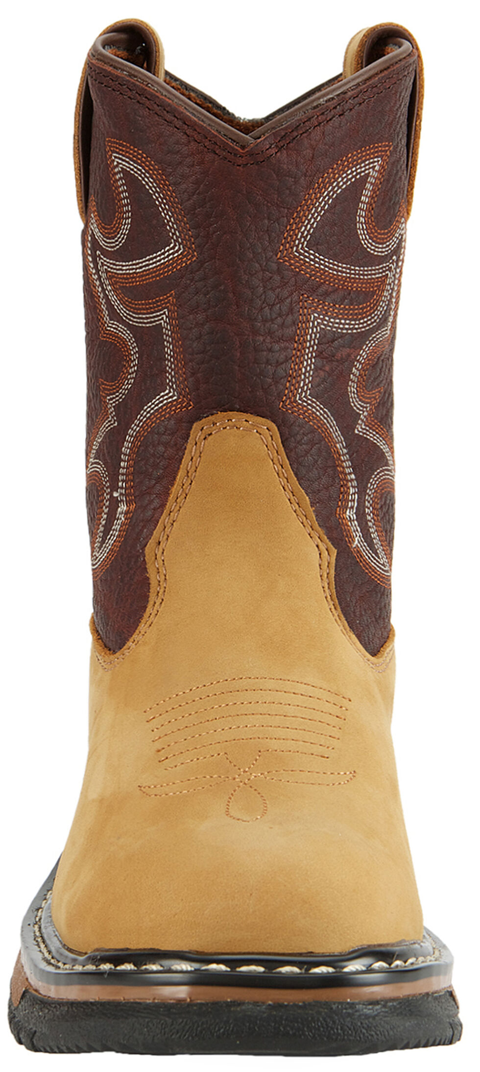 Rocky Kids' Branson Roper Western Boots - Round Toe, Brown, hi-res