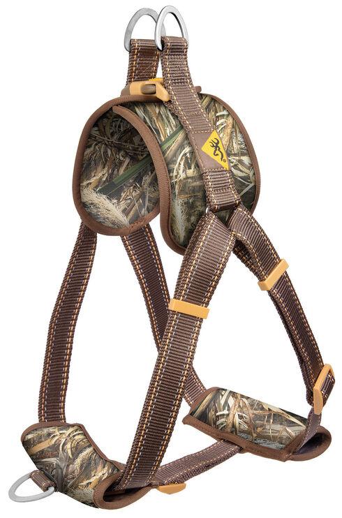 Browning Medium Camouflage Walking Dog Harness, Camouflage, hi-res