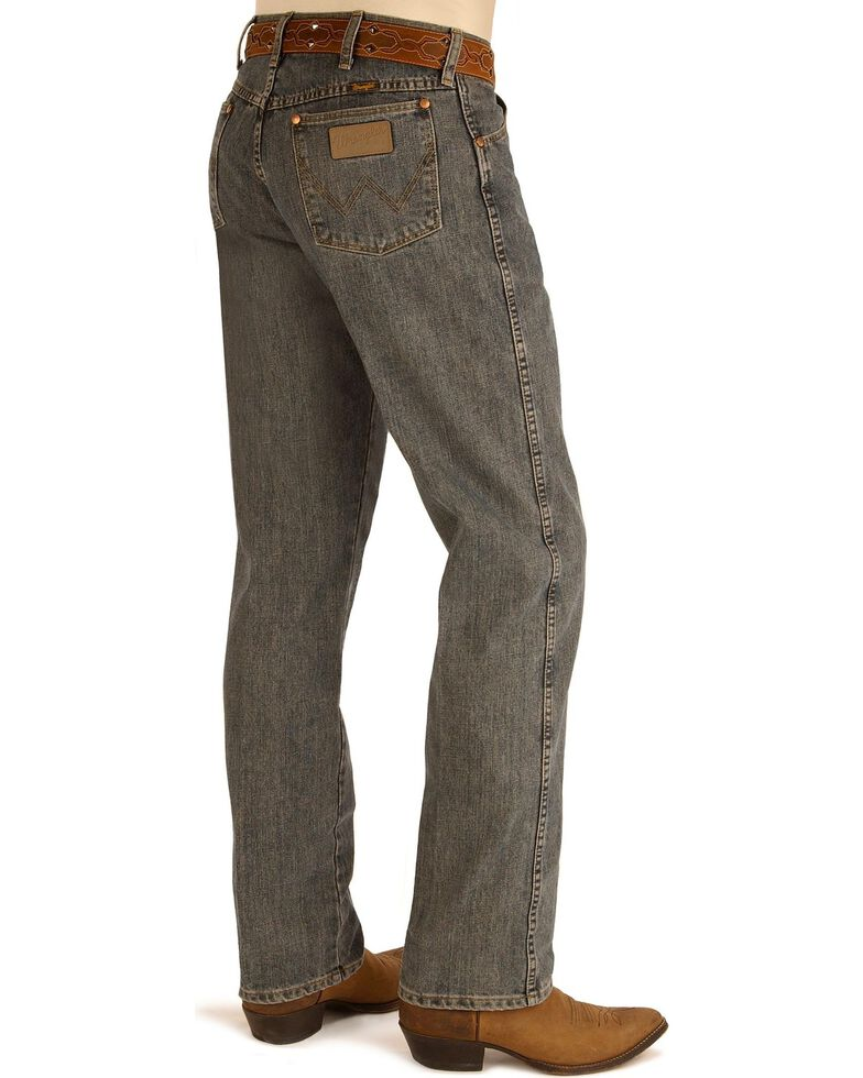 "Wrangler 13MWZ Cowboy Cut Original Fit Prewashed Jeans - 38"" & 40"" Inseams, Blue Dust, hi-res"