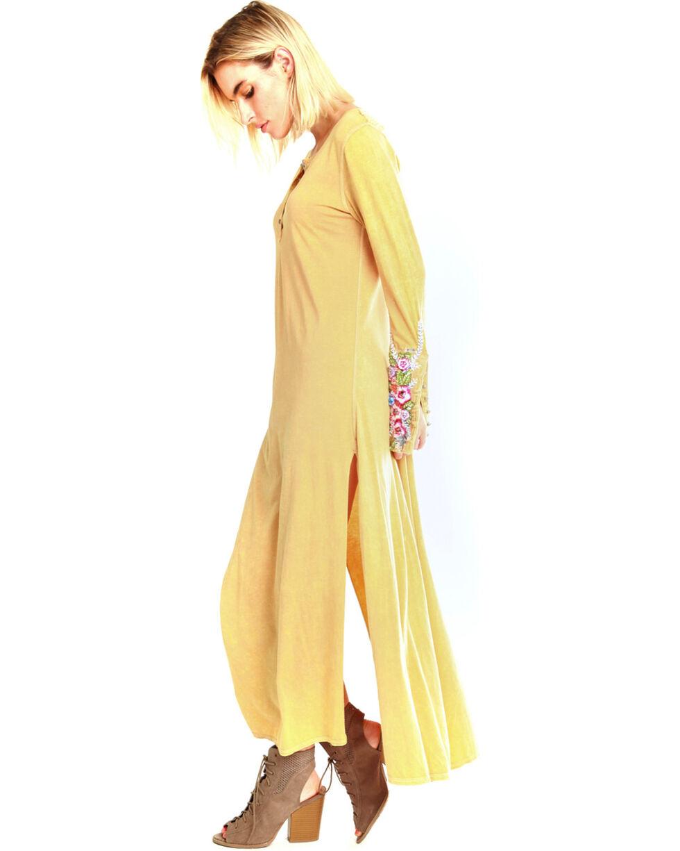 Aratta Women's Ava Maxi Dress , Yellow, hi-res