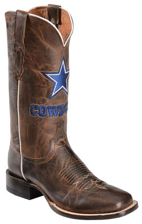 Lucchese Handcrafted 1883 Dallas Cowboys Mad Goat Horseman Boots, Tan, hi-res