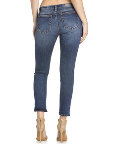 Miss Me Women's Step Down Ankle Skinny Jeans , Indigo, hi-res