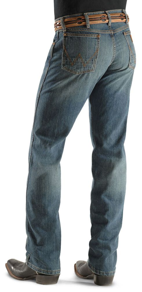 Wrangler Jeans - Retro Rocky Top Straight Slim Fit, Faded Blue, hi-res