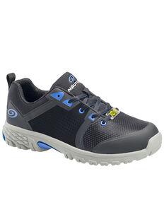 Nautilus Men's Black Zephyr Work Shoes - Composite Toe, Black, hi-res