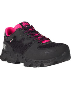 Timberland PRO Women's Powertrain ESD Work Shoes - Alloy Toe, Black, hi-res
