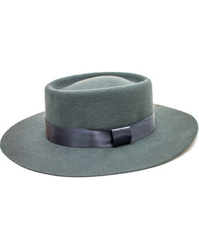 Peter Grimm Unisex Grey Finland Wool Felt Hat, Grey, hi-res
