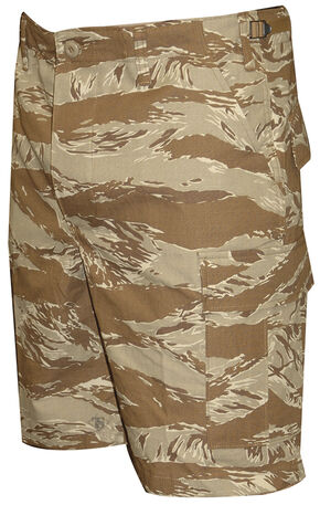 Tru-Spec Men's Desert Tiger Stripe Camo BDU Shorts, Camouflage, hi-res